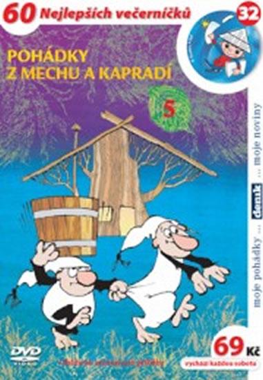 Pohádky z mechu a kapradí 5. - DVD - Zdeněk Smetana