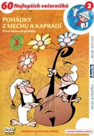 Pohádky z mechu a kapradí 3. - DVD - Zdeněk Smetana