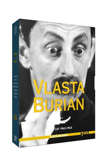 Vlasta Burian 4. - Zlatá kolekce - 7DVD