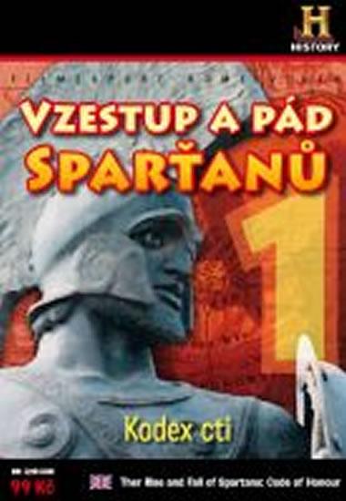 Vzestup a pád Sparťanů 1. - Kodex cti - DVD digipack