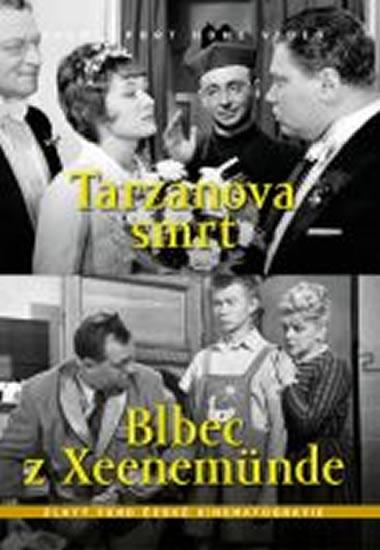 Tarzanova smrt Blbec z Xeenemünde (2 filmy na 1 disku) - DVD box - autor neuvedený