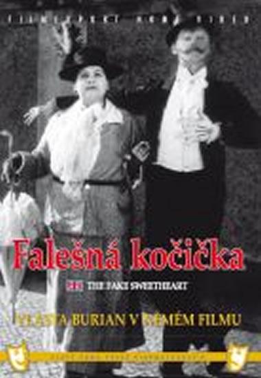 Falešná kočička (1926) - DVD box, němý film s Vlastou Burianem