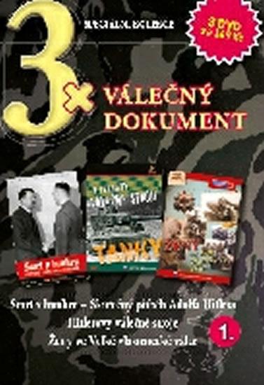 3x DVD - Válečný dokument 1.
