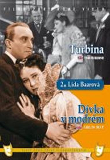 Dívka v modrém Turbina (2 filmy na 1 disku) - DVD box - autor neuvedený