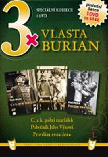 3x DVD - Vlasta Burian I.