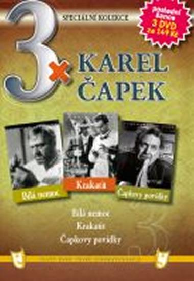 3x DVD - Karel Čapek