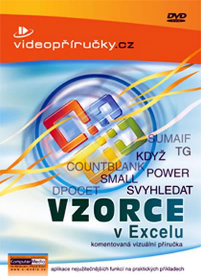Videopříručky - Vzorce v Excelu - DVD