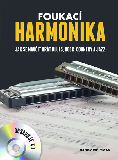 Foukací harmonika - Sandy Weltman