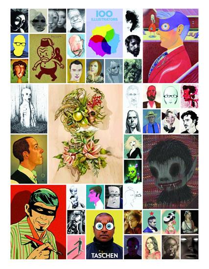 100 ilustrátorů