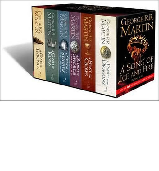 Song of Ice and Fire box set 6 volumes - George R. R. Martin
