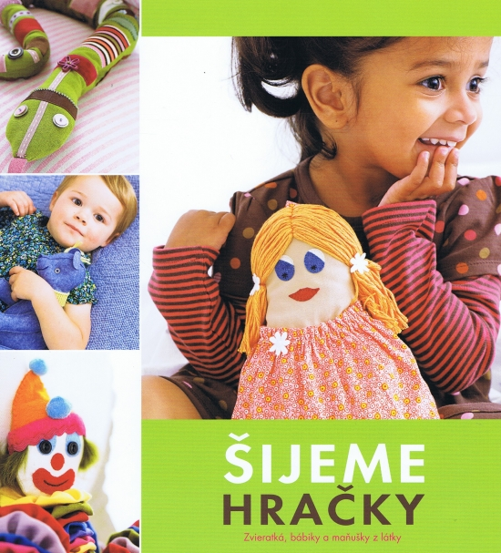 Šijeme hračky - Kate Haxell