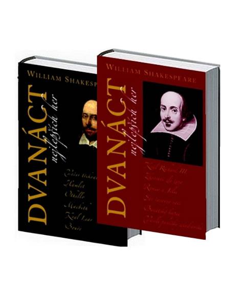 Dvanáct nejlepších her 1+2 - komplet - William Shakespeare