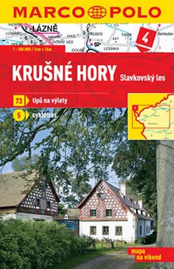 Krušné hory-Slavkovský les 4 - mapa 1:100 000