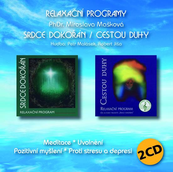 Srdce dokořán / Cestou duhy - Relaxační program 2 CD - Miroslava Mašková