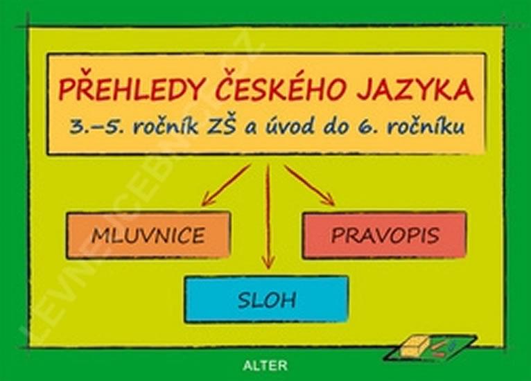 Přehledy českého jazyka v 3.- 5. ročníku ZŠ a úvod do 6.ročníku - Lenka Bradáčová