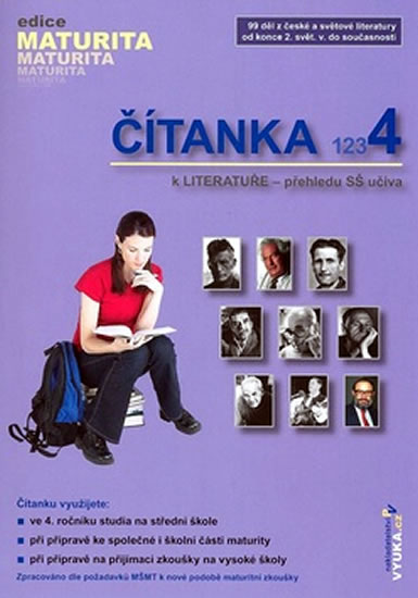 Čítanka k literatuře 4 - přehled SŠ učiva - Foltyna Krausová,