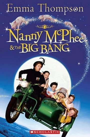 Popcorn ELT Readers 3: Nanny McPhee & the Big Bang - Emma Thompson