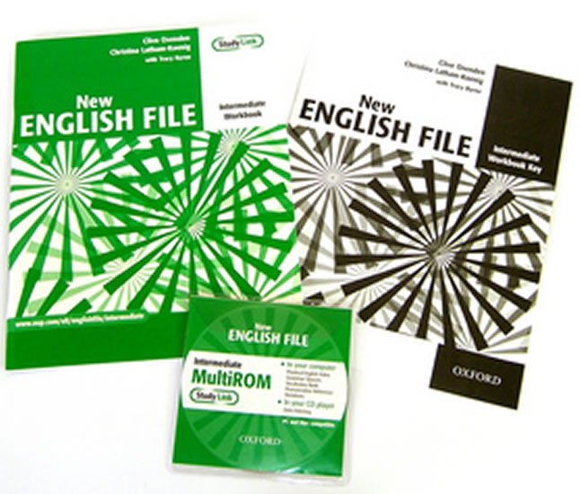 New English File Intermediate Workbook with Answer Booklet and MultiROM Pack - Clive Oxenden