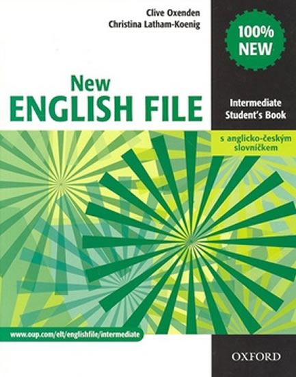New English File Intermediate Student´s Book CZ - Clive Oxenden