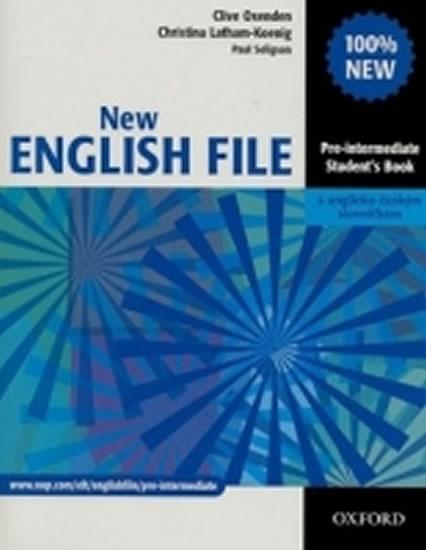 New English File Pre-Intermediate Student´s Book CZ - Clive Oxenden