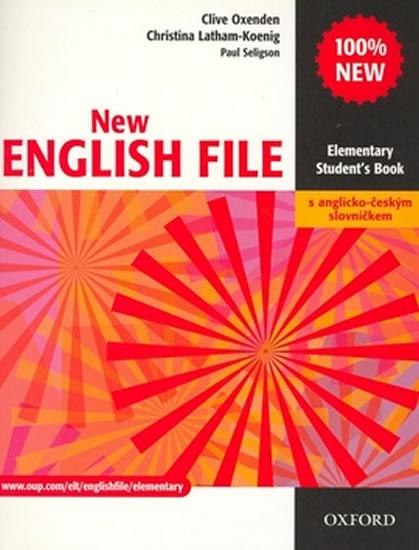 New English File Elementary Studenťs Book s anglicko-českým slovníčkem - Clive Oxenden