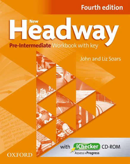 New Headway Fourth Edition Pre-Intermediate Workbook with Key + iChecker CD - John and Liz Soars