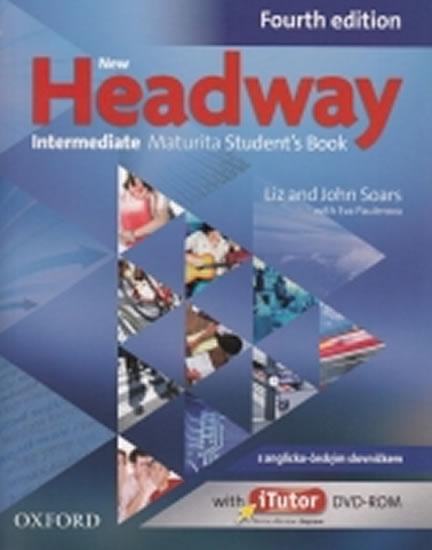 New Headway Fourth Edition Intermediate Maturita Student´s Book + iTutor DVD CZ - John and Liz Soars
