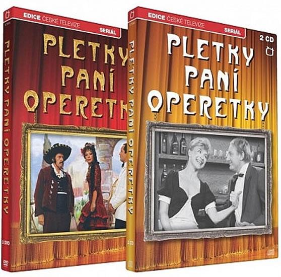 Pletky paní operetky - 3 DVD + 2 CD