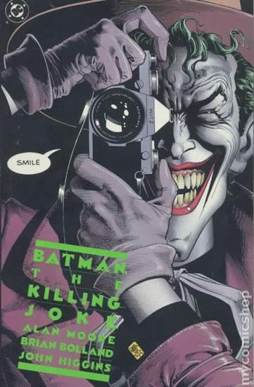 Batman - Kameňák, Muž, který se smál - Alan Moore