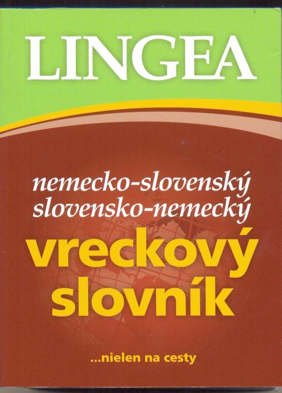 Nemecko-slovenský, slovensko-nemecký vreckový slovník-4. vydanie