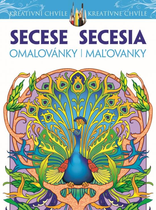 Secesia-maľovanky pre dospelých