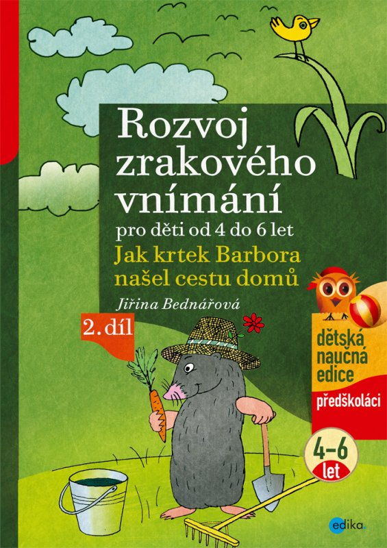 Rozvoj zrakového vnímání - Jiřina Bednářová
