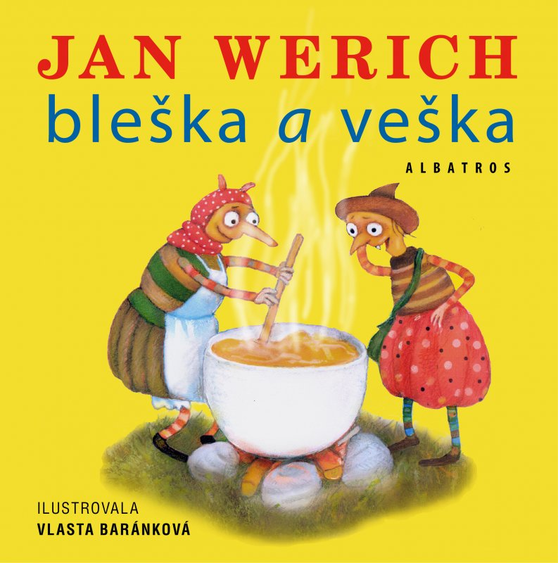 Bleška a veška - Jan Werich,Baránková