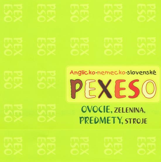 Anglicko-nemecko-slovenské PEXESO- zelené