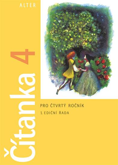 Čítanka 4 pro 4. ročník ZŠ, brožovaná - Hana Rezutková