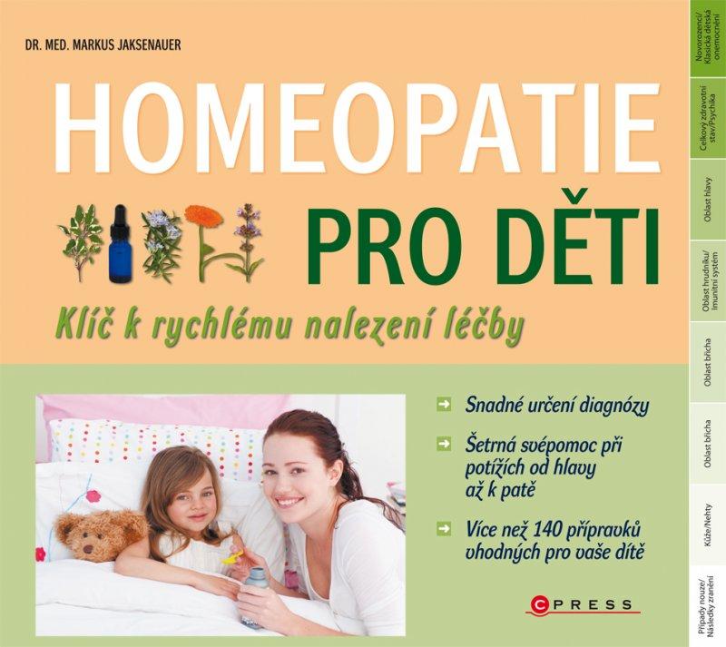 Homeopatie pro děti - Markus Wiesenauer