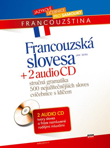 Francouzská slovesa + 2 AUDIO CD - Jan Seidl