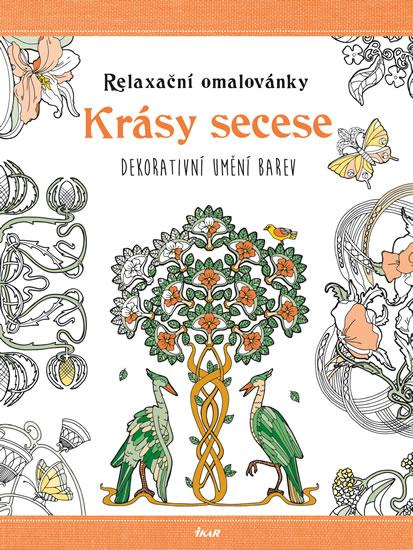 Relaxační omalovánky: Krásy secese