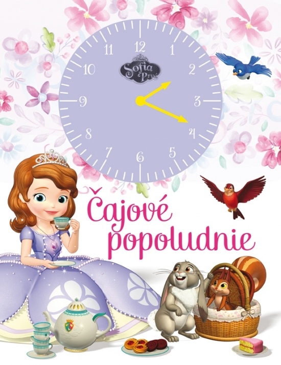 Sofia Prvá - Čajové popoludnie -kniha s hodinami