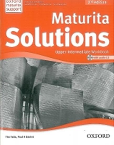 Maturita Solutions 2nd Edition Upper Intermediate Workbook with Audio CD CZEch Edition - Paul A., Tim Falla, Davies