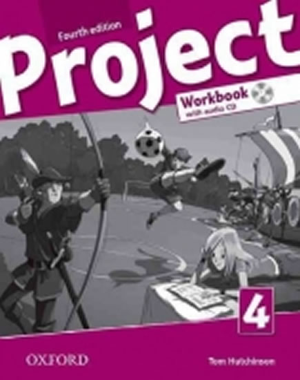 Project Fourth Edition 4 Workbook with Audio CD (International English Version) - Tom Hutchinson