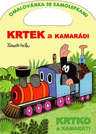 Krtek a kamarádi - Omalovánka se samolepkami - Zdeněk Miler