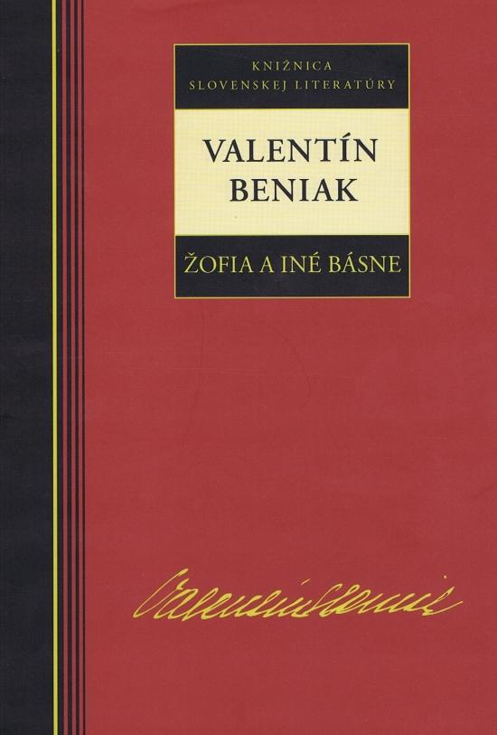 Žofia a iné básne - Valentín Beniak