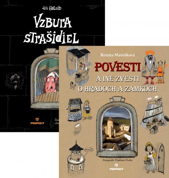 Povesti a iné zvesti o hradoch a zámkoch / Vzbura strašidiel - Renáta Matúšková, Jiří Holub