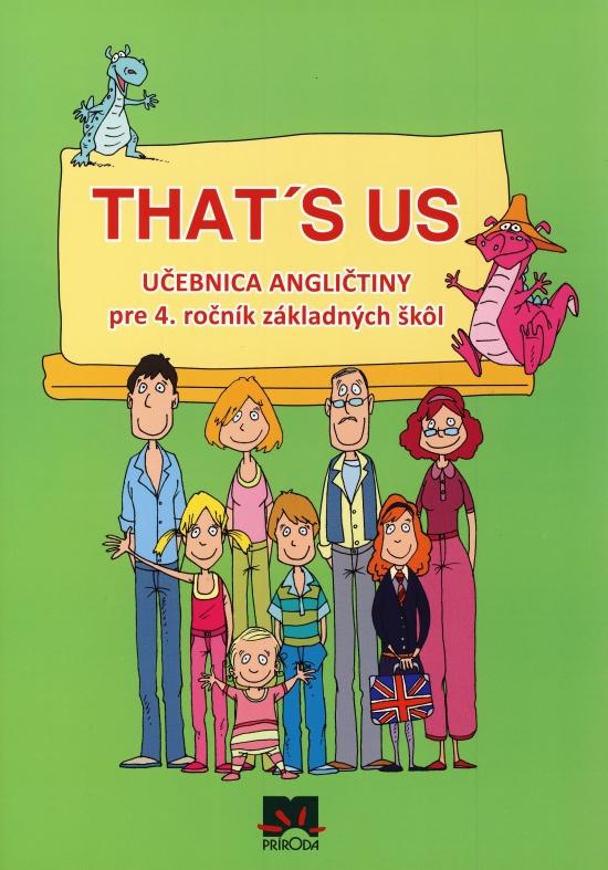 That´s us - Učebnica angličtiny pre 4. ročník základných škôl