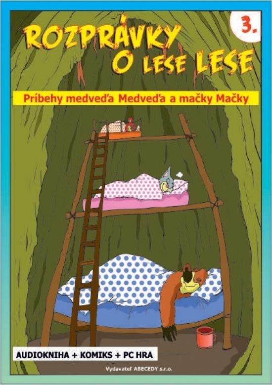 Rozprávky o lese Lese - 3. časť (CD + Komiks) - Anna Grác Gürtlerová