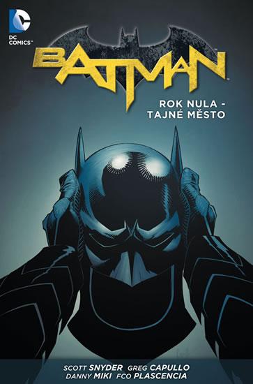 Batman - Rok nula – Tajné město brož.