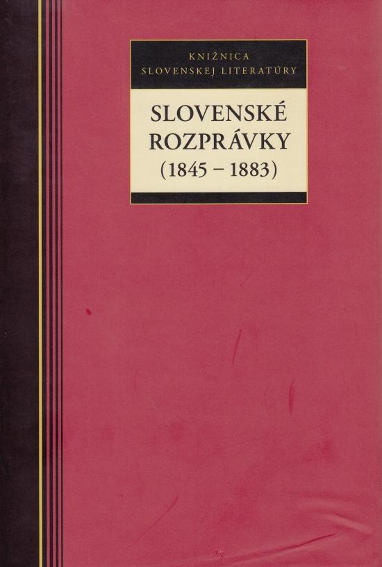 Slovenské rozprávky (1845 - 1883)