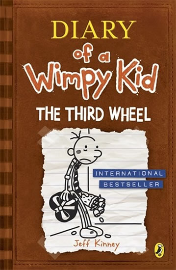 Diary of a Wimpy Kid 7 - The Third Wheel - Jeff Kinney