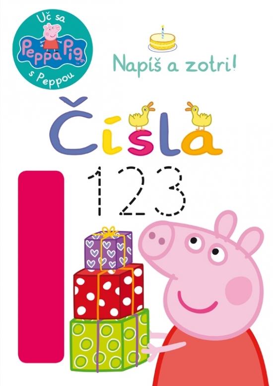 Peppa Pig - Čísla 123 - Napíš a zotri!